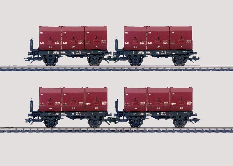 marklin h0 48270 Wagenset autobone trasporto NUOVO