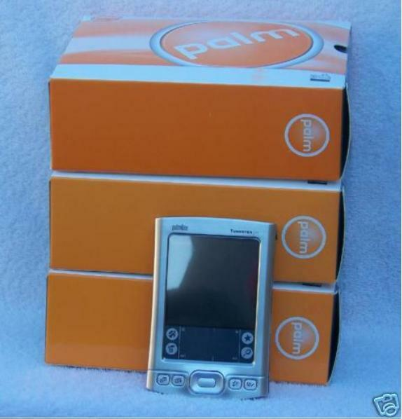NEW IN BOX >>PERFECT<< PALM TUNGSTEN E2 PDA HANDHELD ORGANIZER BLUETOOTH
