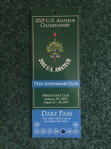 Same, 2005 us amateur golf all not