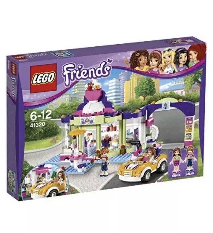 LEGO Friends 41320 Heartlake frozen yogurt Shop Ice Cream Brand New Sealed.