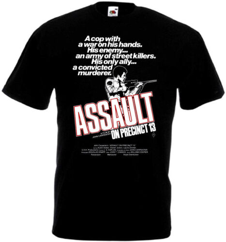 Assault On Precinct 13 v1 T-shirt black all sizes S...5XL