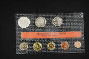 Course Set Federal Republic Germany 1971F Proof Edition Only 8000 Piece