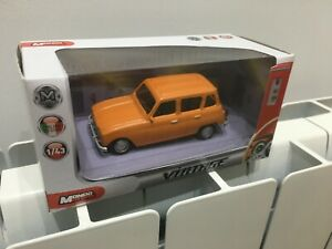 Renault-4-R4-L-TL-Gtl-Safari-1-43-mondo-motors-Vintage-Collection-Orange