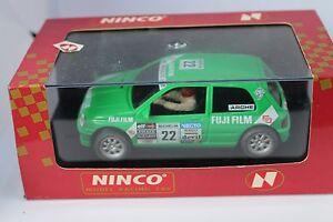 NINCO-50111-RENAULT-CLIO-FUJI-matte-Felgen-Arche-NEU-OVP-alles-muss-raus-rarrr