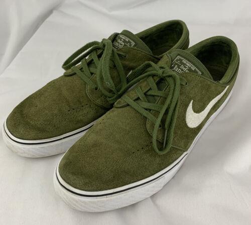Nike SB STEFAN JANOSKI SKATEBOARD SHOES GREEN SZ 1