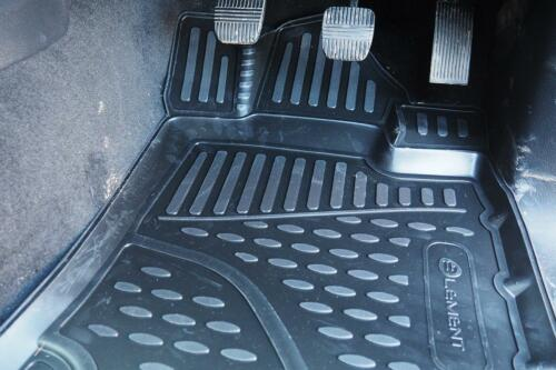 For 2018 On Nissan Navara Rubber Floor Mats Tailored Fit Deep Tray Manuaal