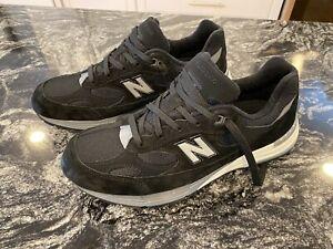 New-Balance-M992BL-Made-in-USA-Size-10-5-Black-New-Unworn