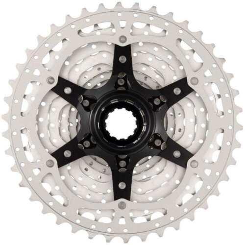 Silver MTB Bike Cassette SunRace CSMS8 or CSMX8 11-Speed 11-36 40 42 46T Black