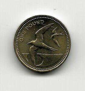 1984 st helena pound coin