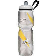 Polar Bottle 24oz Insulated Water Drink Bottle BPA Free YELLOW PATTERN