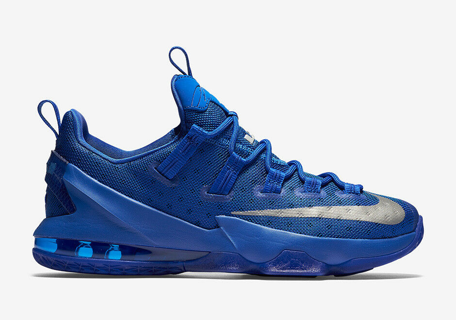 Nike LeBron XIII 13 Low Game Royal Blue, Kentucky (831925-400), Size 8.5 US
