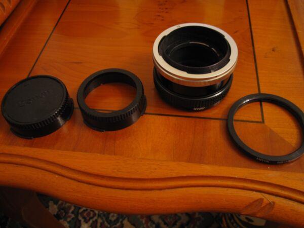 Capable Canon Macrophoto Coupleur Kit Pour Fl/fd Service Durable