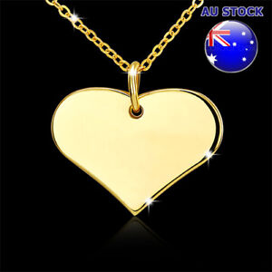 Wholesale 18K Gold Filled Love Heart Pendant Necklace Gift ...