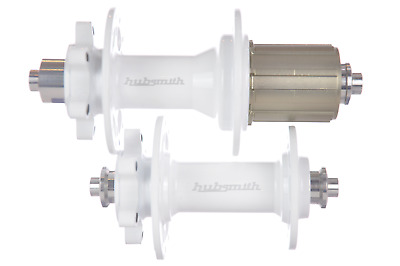 HubSmith Super Light 9-10 Speed Shimano//Campy Hubset 262gr//set White
