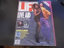 Live Aid, Tina Turner, Mick Jagger - Life Magazine 1985