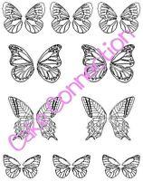 Gelatin Art Veining Sheet - Butterfly