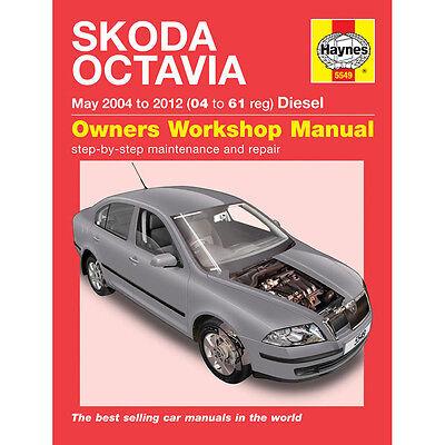 Skoda Octavia 1.9 2.0 Diesel 2004-11 (04 to 11 Reg) Haynes Workshop Manual
