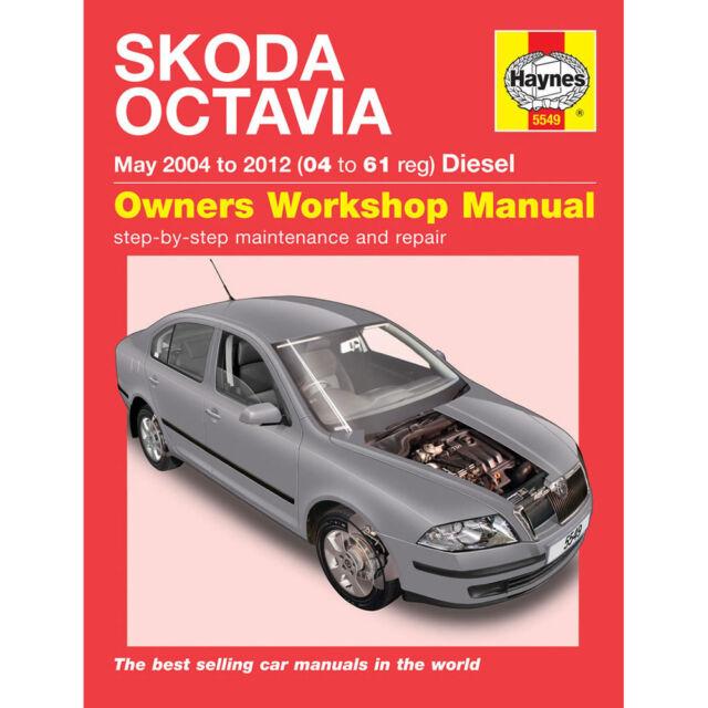 haynes manual 5549 skoda octavia diesel may 2004 2012 ebay rh ebay co uk