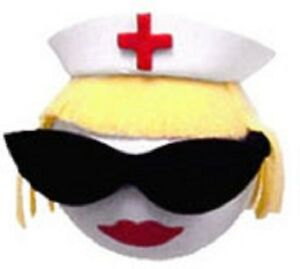 Cool Blonde Nurse Antenna Topper Ball