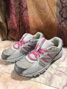 6a97b9aa Details about New Balance 412 Womens Trail Running Shoes WTE412P1 Grey/Pink  Size 11 US 9 UK