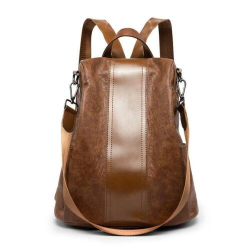 Femmes Fille Sac à dos de voyage en cuir sac à main d/'épaule Sac à dos sac d/'école Satchel