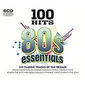 5 x CD 100 Hits (80s/Eighties Essentials, 2013)
