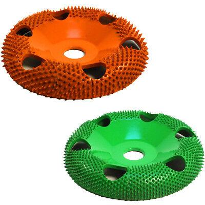 "Green and Orange 10/% OFF Sanding Disc Set 7//8/"" Bore w// Holes SABURR TOOTH USA!"