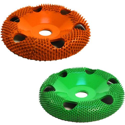 "SABURR TOOTH 10/% OFF Set 7//8/"" Bore w// Holes Donut Wheel USA! Green and Orange"