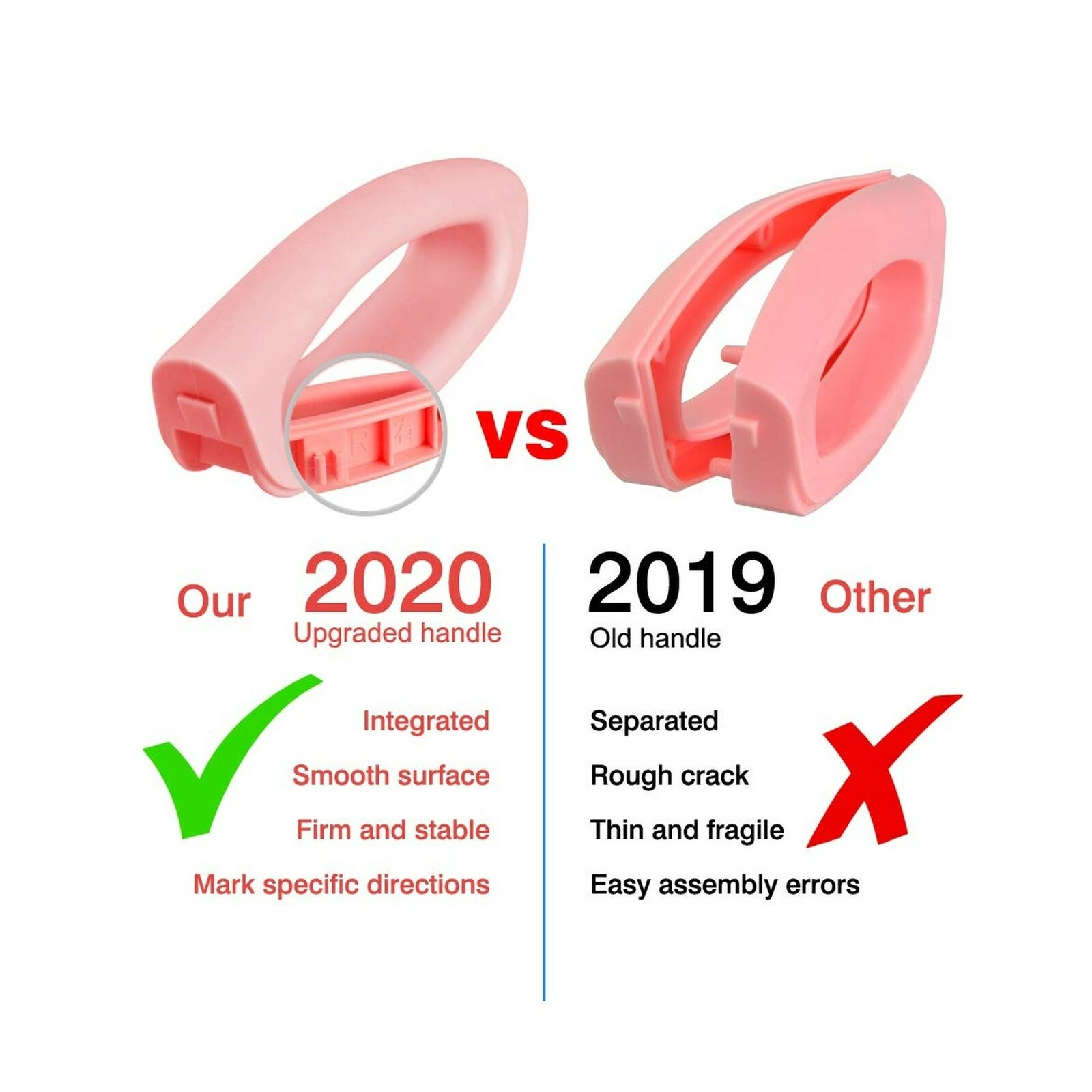 Pink 711TEK Potty Training Seat Toddler Toilet Seat with Step Stool Ladder,Potty Training Toilet for Kids Boys Girls Toddlers-Comfortable Safe Potty Seat Potty Chair with Anti-Slip Pads Ladder