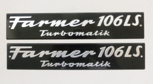 Fendt escudo capó Farmer 106 ls turbomatik marcado por Alu