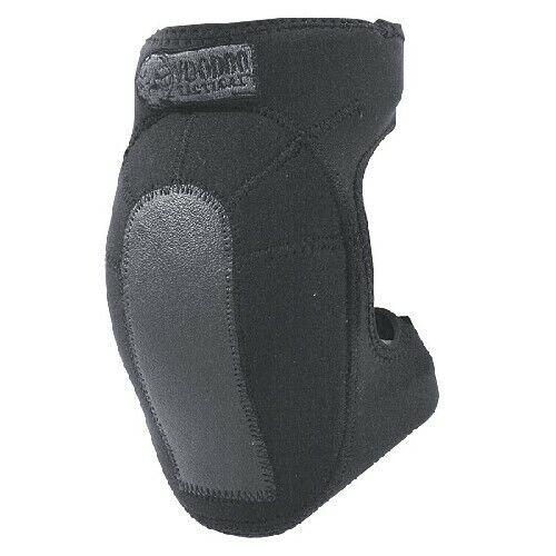 Voodoo Tactical 06-896901000 Black Neoprene Knee Pads w// Hook /& Loop Straps