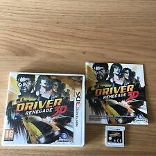 Driver Renegade 3D Nintendo 3DS Game | PAL UK Complete | Driving Crime