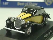 BOS Bugatti Typ 50T, gelb/ schwarz - 87166 - 1/87