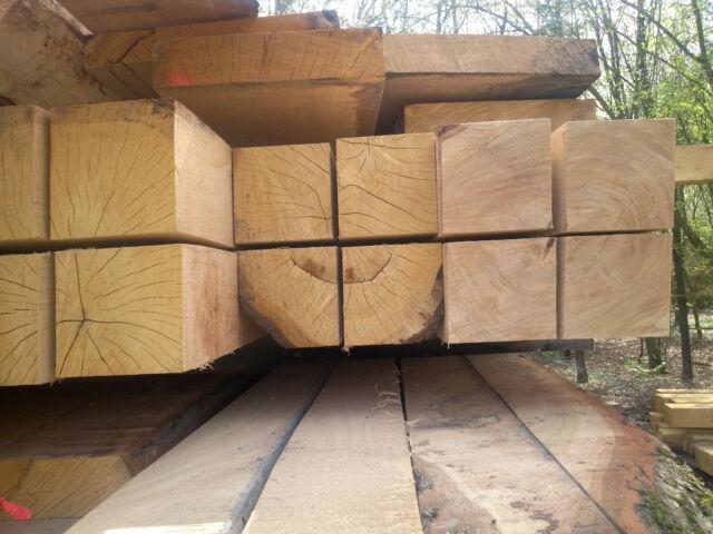 3m lang Kantholz 14x14 Eichenbalken 14 x 14 Kanthölzer aus Eiche