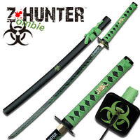 Zombie Hunter - 40 1/2 Samurai Katana Sword With Scabbard - Bokken Knife Zb-026