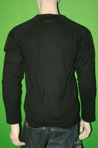 RG512 Men/'s 100/% Cotton Black Rough Soul Graphic Shirt W27148 Sz L NEW