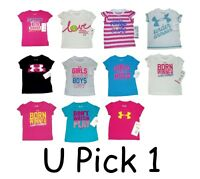 Under Armour T Shirt Top Tee Ua Kids Little Girls Infant Childrens Clothes