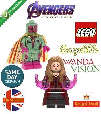 Avengers Vision Figure Mjolnir End Game Marvel Lego Fit Age Of Ultron UK Seller