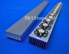 High Power LED aluminum Heatsink 300mm*25mm*12mm for 1W,3W,5W led chip DIY