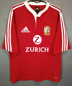 Adidas Homme Rugby Union British & Irish Lions 2004/2005 Home Shirt Jersey Taille S