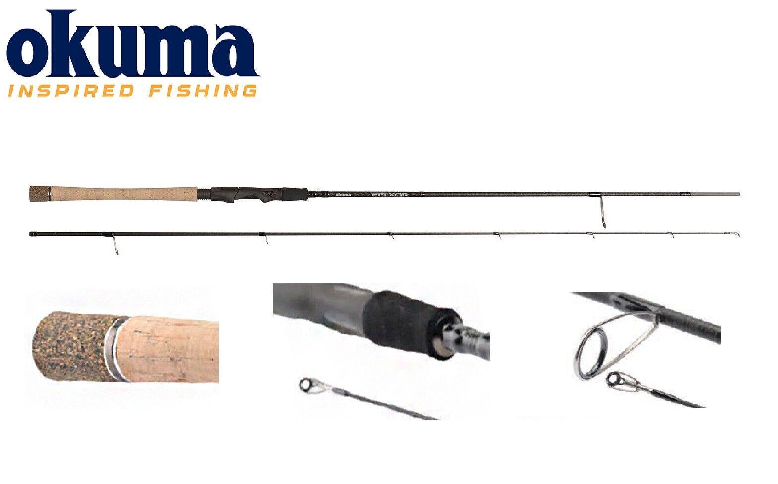 OKUMA Epixor Filatura Rod 198 cm - 345 cm 6' 6  - 11' 5  2-50 G