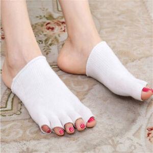 Gel-Toe-Socks-Instant-1-Pair-Comfy-Feet-Separator-Cushion-Pain-Protector-G9CA