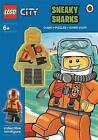 LEGO City: Sneaky Sharks Activity Book with Minifigure by Penguin Books Ltd (Paperback, 2014)