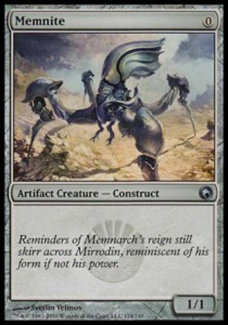 MTG Magic The Gathering Platinum Emperion Scars of Mirrodin HP