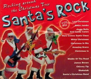 DOPPEL-CD-NEU-OVP-Santa-039-s-Rock-Rocking-Around-The-Christmas-Tree