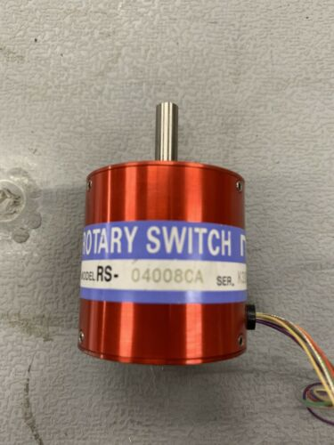 NSD RS-04008CA Rotary Switch