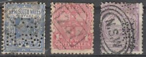Australia-New-South-Wales-STAMPS-CON-PERFINS