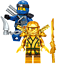 Lego-Ninjago-Minifiguren-Sets-Zane-Cole-Nya-Kai-Jay-GOLDEN-DRAGON-LLOYD-Minifigs Indexbild 15