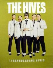 THE HIVES 2004 tyrannosaurus hives cover promotional poster ~MINT CONDITION~!