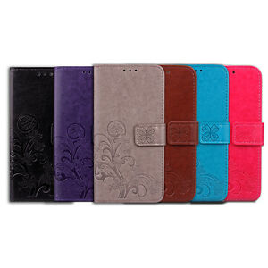 Magnetic-PU-Leather-Wallet-Flip-Card-Slot-Stand-Case-Cover-Strap-For-HTC